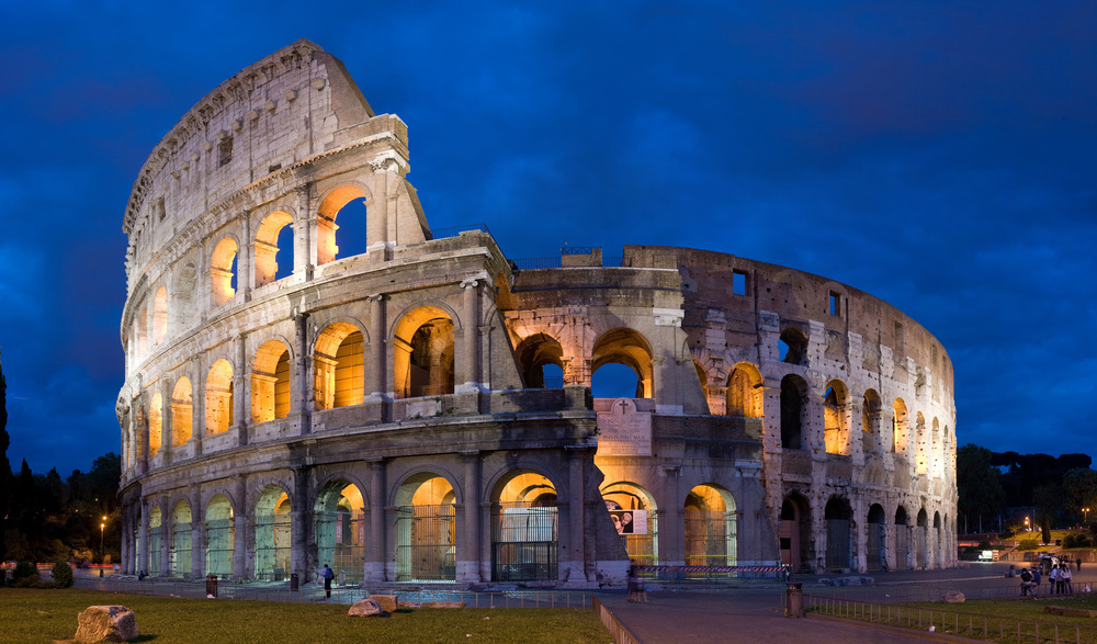 I'm looking forward to visiting Rome's famed Colosseum. Image credit:    Diliff   /   Creative Commons 2.5