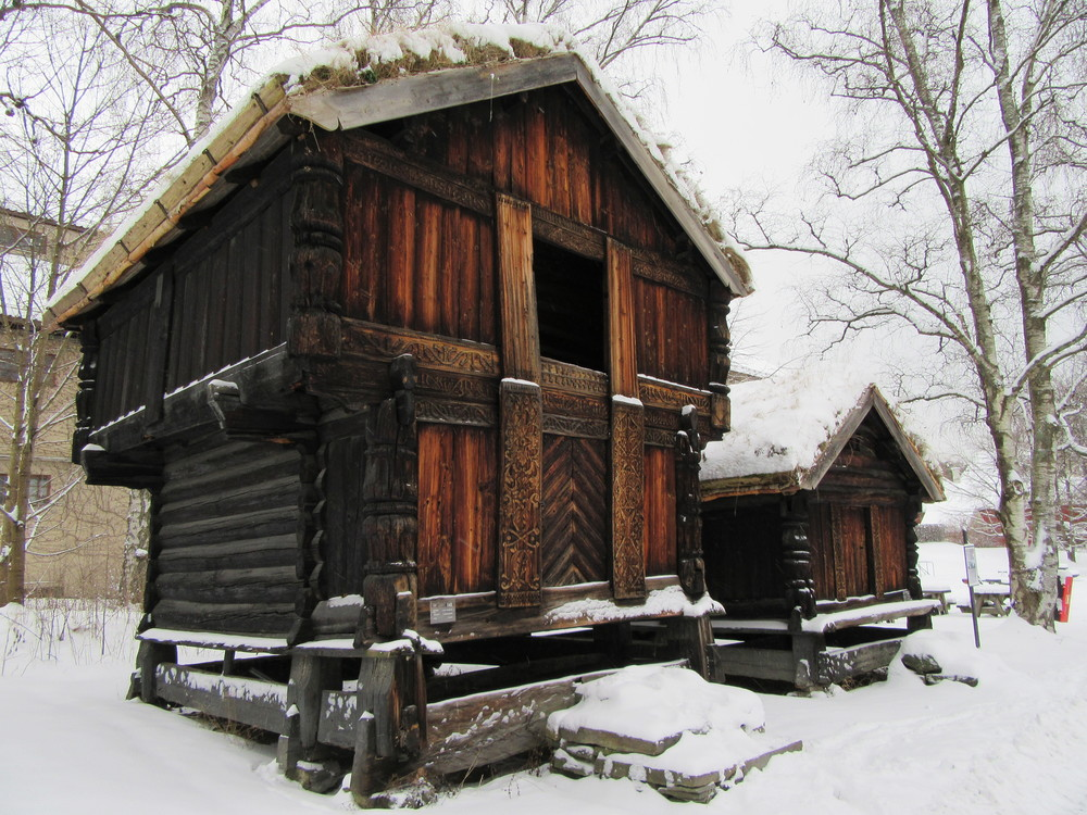 Norwegian-Folk-Museum-Oslo-Storehouse