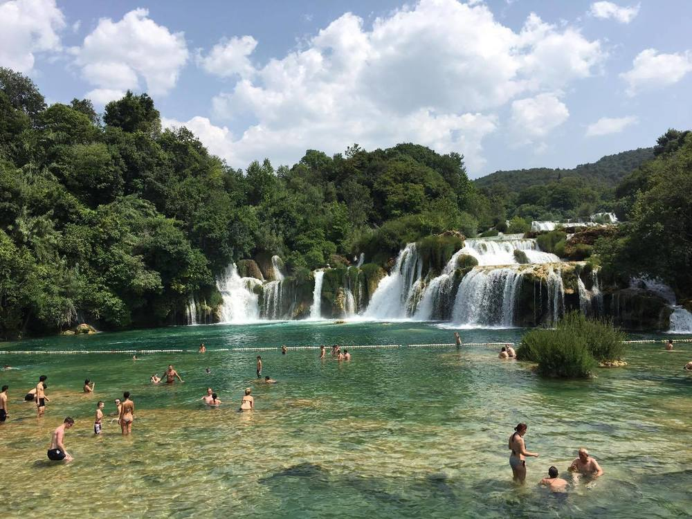 Skradanski buk at Krka National Park, Croatia.