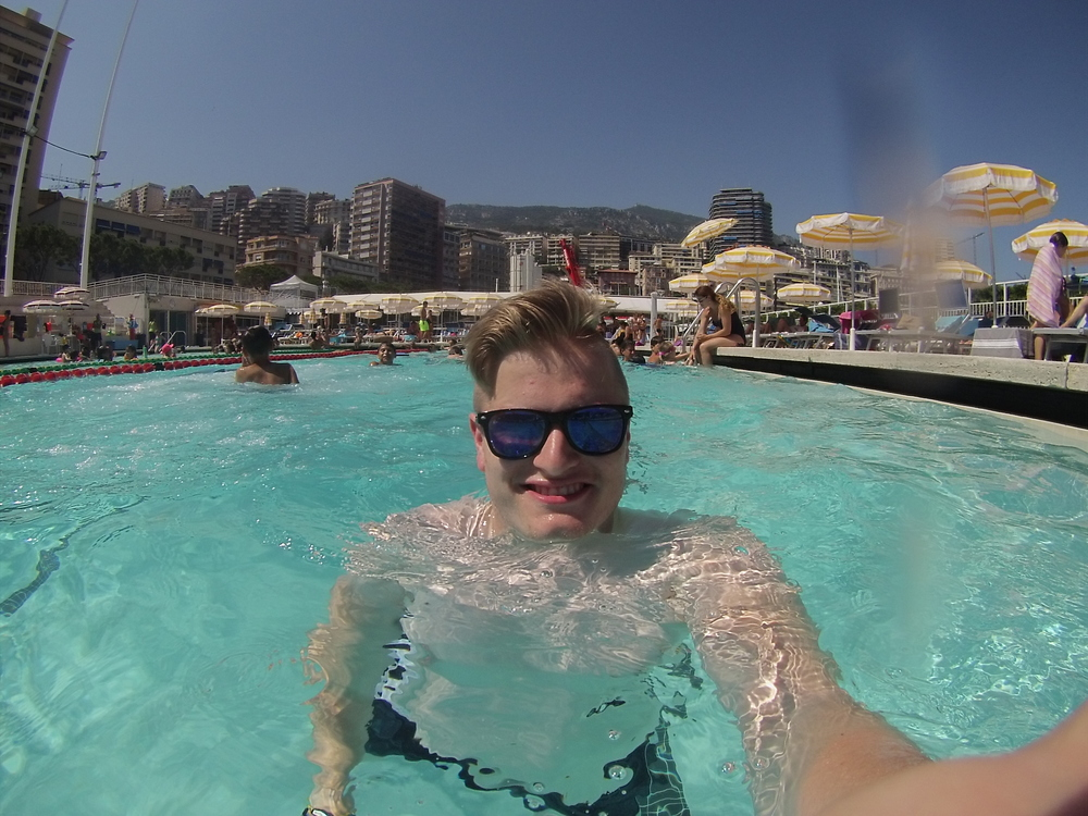 A swim at Stade Nautique Rainier III is a must if you are in Monaco.