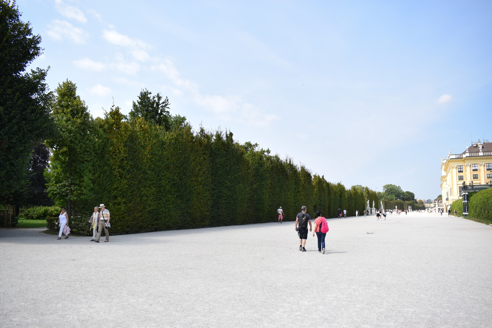 The grounds at Schönbrunn Palace are vast, and would take at least a whole day to fully explore.