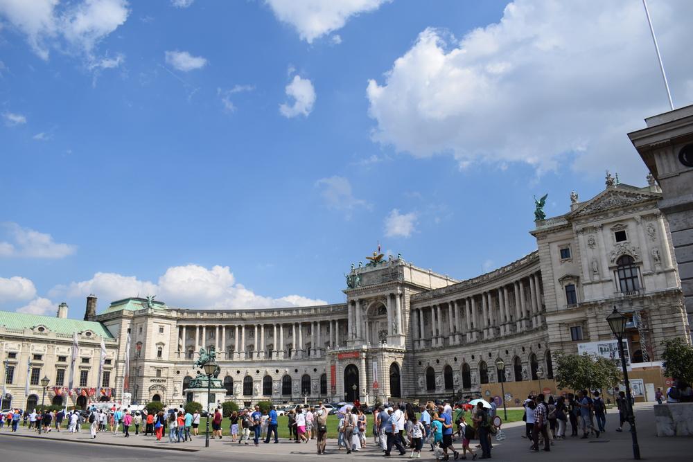 Austrian National Library at Hofburg Palace.