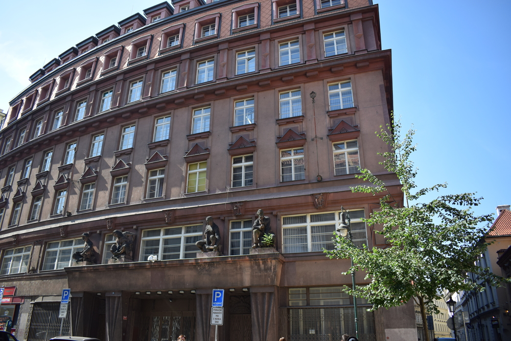 The former StB headquarters, which is now used by the Prague police. The StB were Czechoslovakia's answer to the KGB - a secret political police service to make sure communism was abided by.