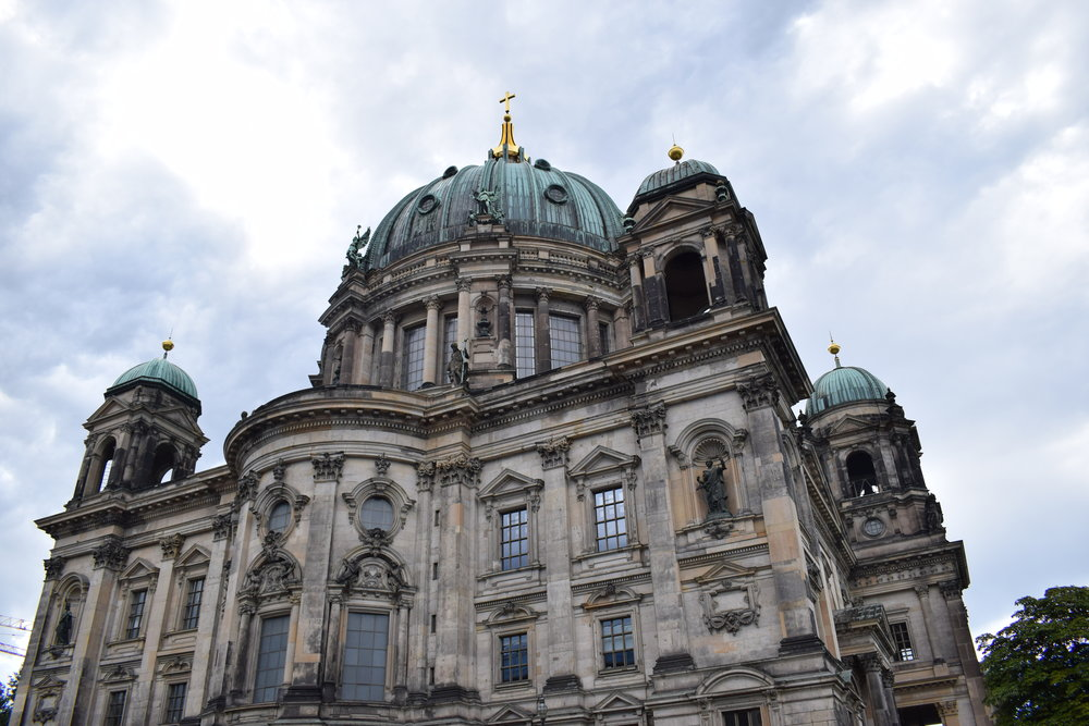 Berlin Cathedral on a murky morning in the German Capital.