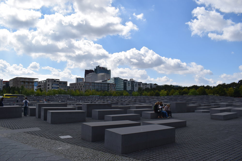 The memorial opened in May 2005 and was designed by architect Peter Eisenman and engineer Buro Happold.