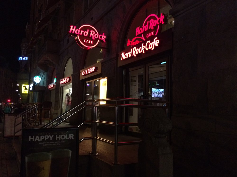 Hard Rock Cafe was another one of my food choices in Copenhagen - even if it was a little on the pricey side.