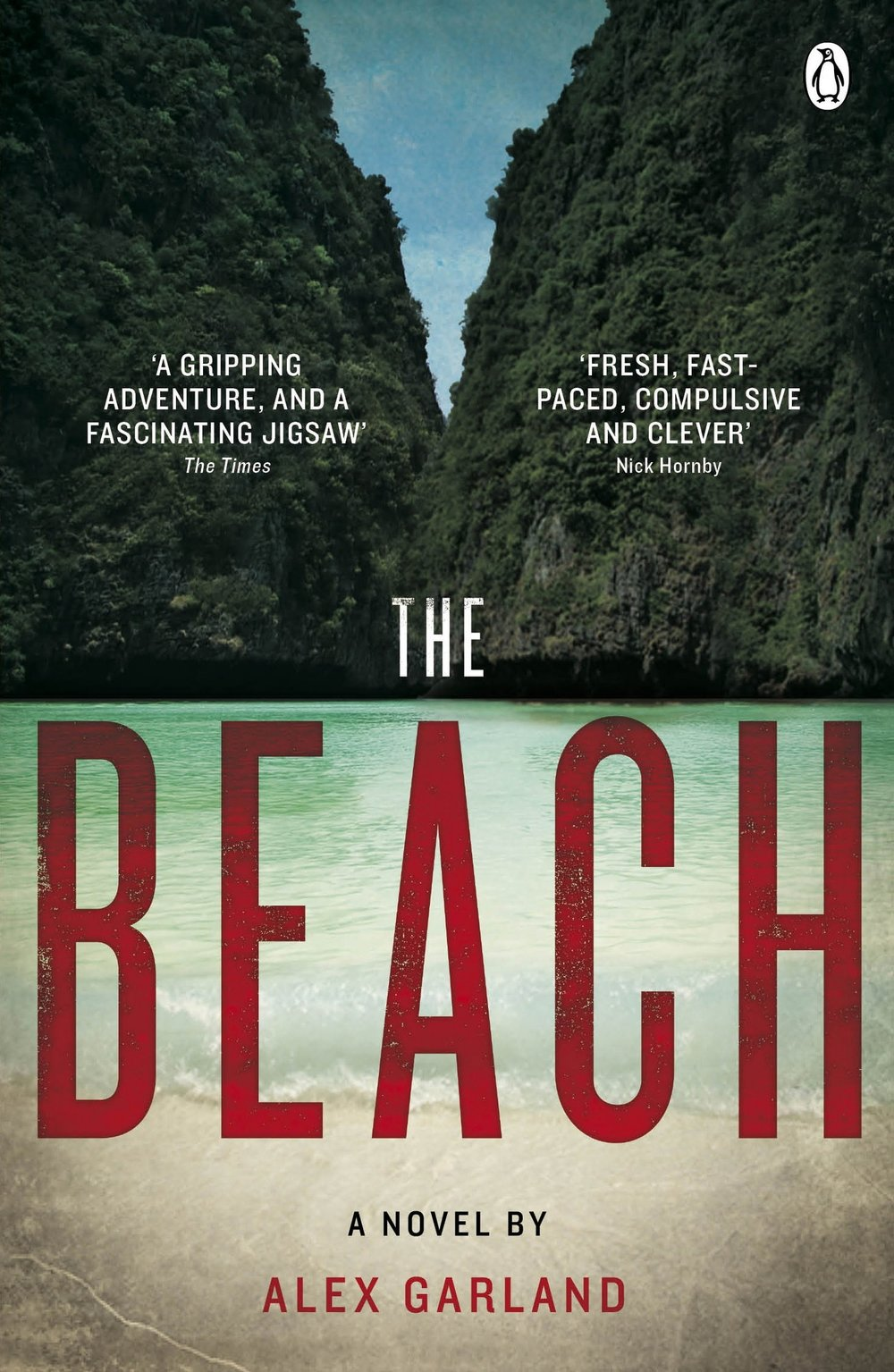 Cover for Alex Garland's The Beach. Image credit:    Amazon   /Fair use
