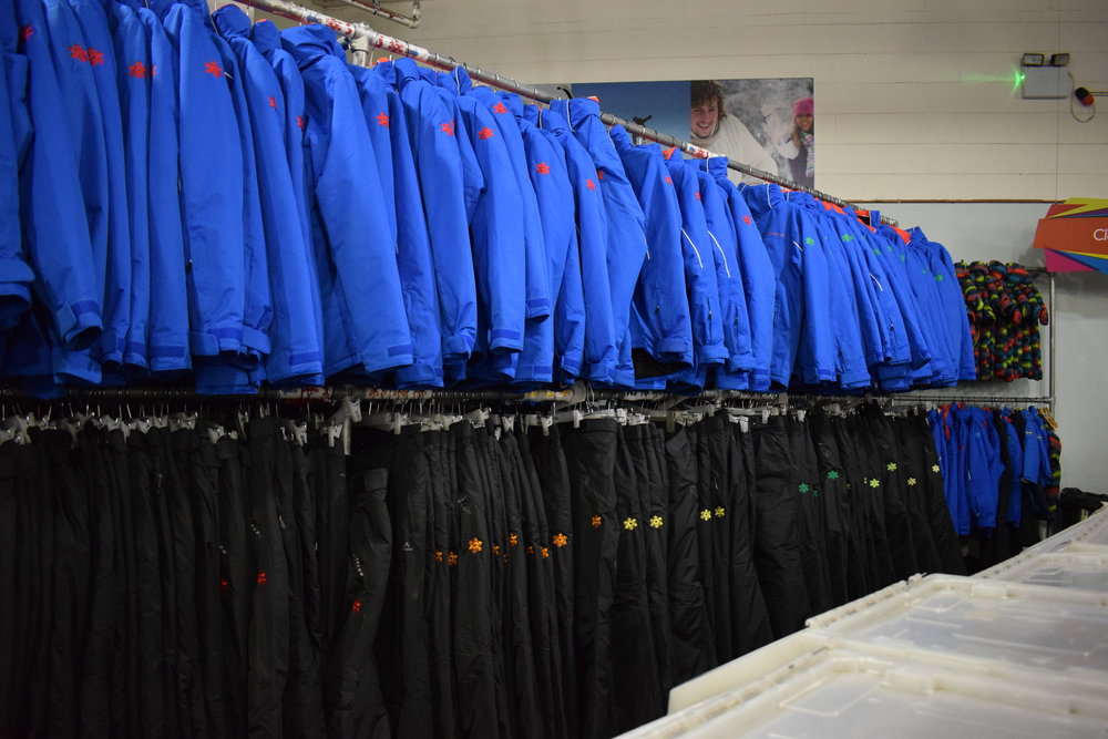 The Chill Factore has a large stock of equipment to hire, as you'd imagine!
