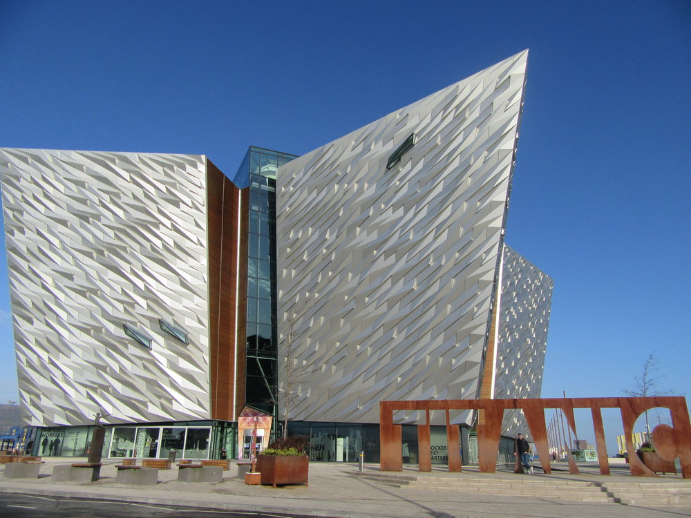 Belfast's Titanic museum was crowned best tourist attraction in the world earlier this week. Scroll down for the full story.