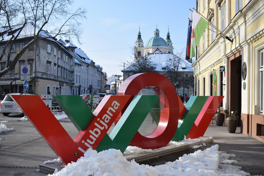 Visit Ljubljana's WOW campaign.