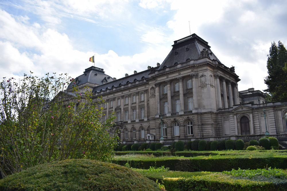 The Royal Palace of Brussels is the official residence of the King and Queen of Belgium.