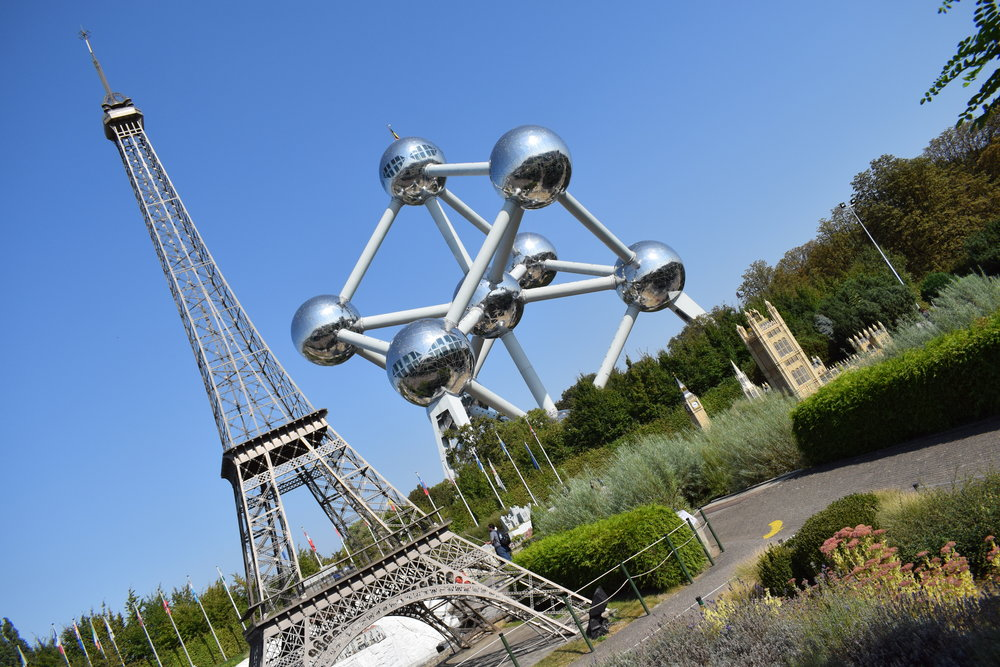 The Atomium provides a nice backdrop to Mini-Europe, and combined tickets for both attractions are available to save visitors some cash.
