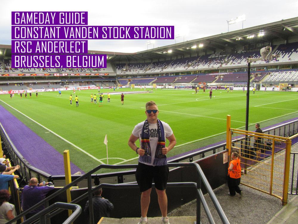 Gameday Guide Constant Vanden Stock Stadium Rsc Anderlecht