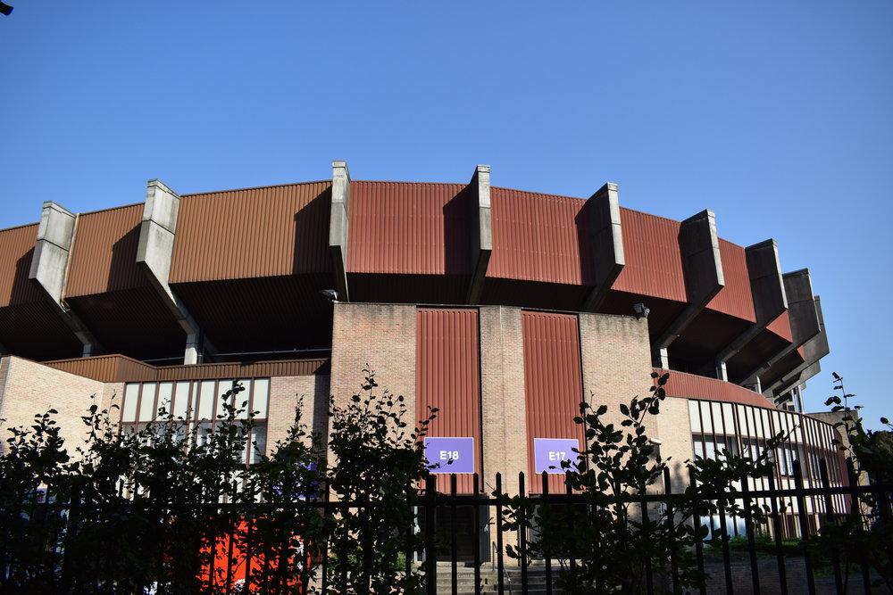 Constant Vanden Stock Stadion's exterior.