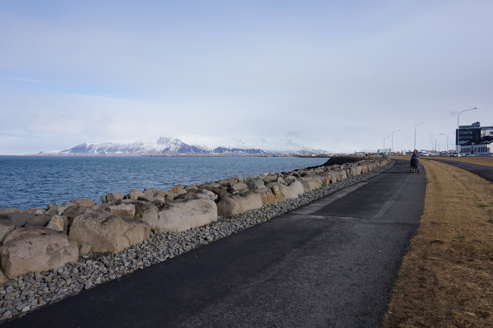 A walk along Reykjavík's answer to a promenade is highly recommended.