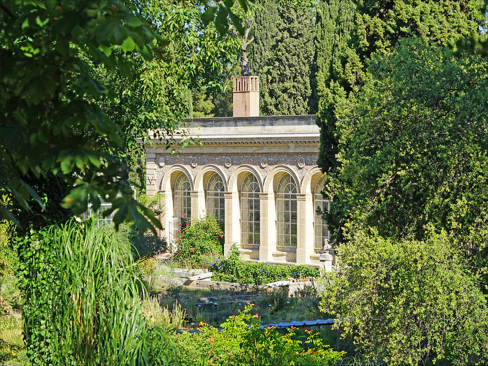 Montpellier's stunning Jardins des Plantes. Image credit:gpluxurycarhire.com