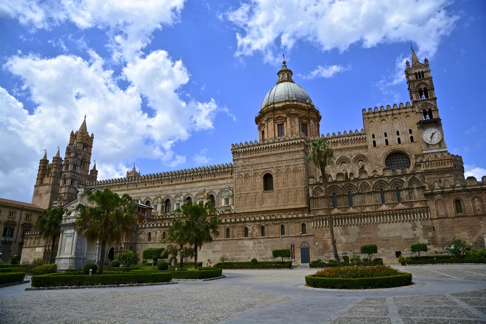 Palermo - home to Palermo Cathedral (pictured) - was an option for our stay in Sicily. Image credit:    Antonio Cinotti   /   Flickr