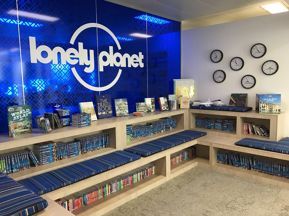 The amazing offices at Lonely Planet.