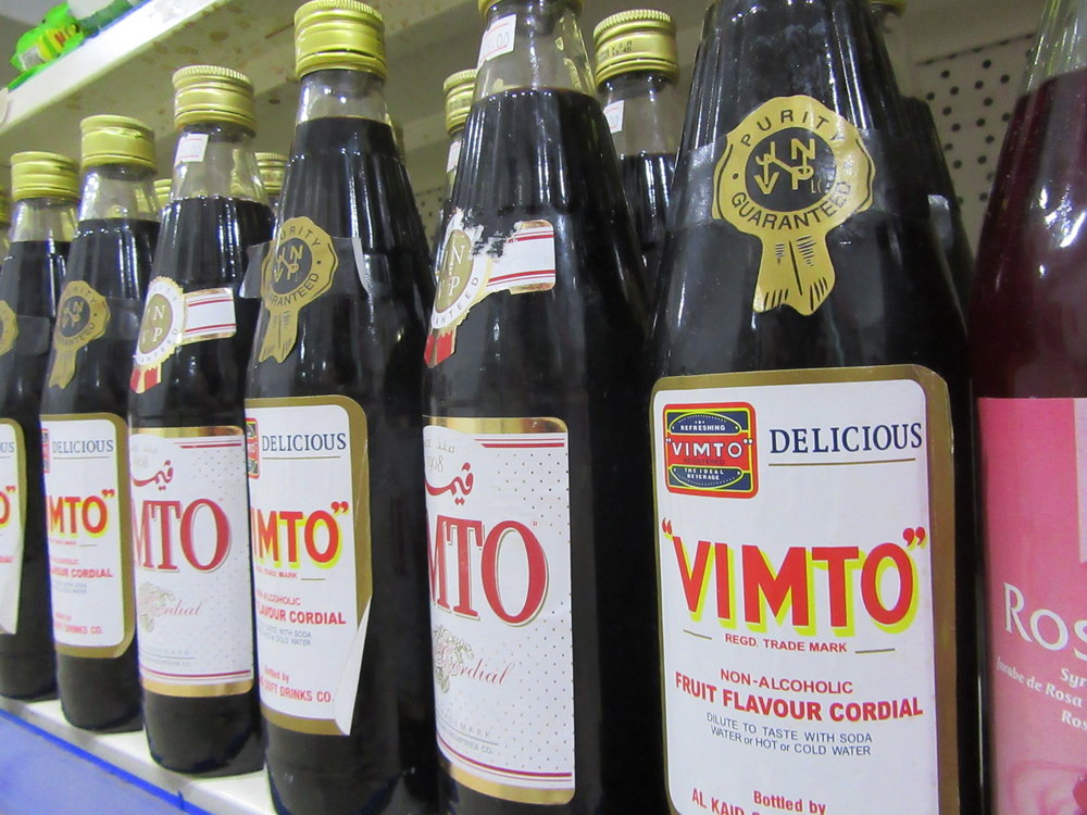 Vimto is a big drink over in The Gambia and is sold by most supermarkets and restaurants.