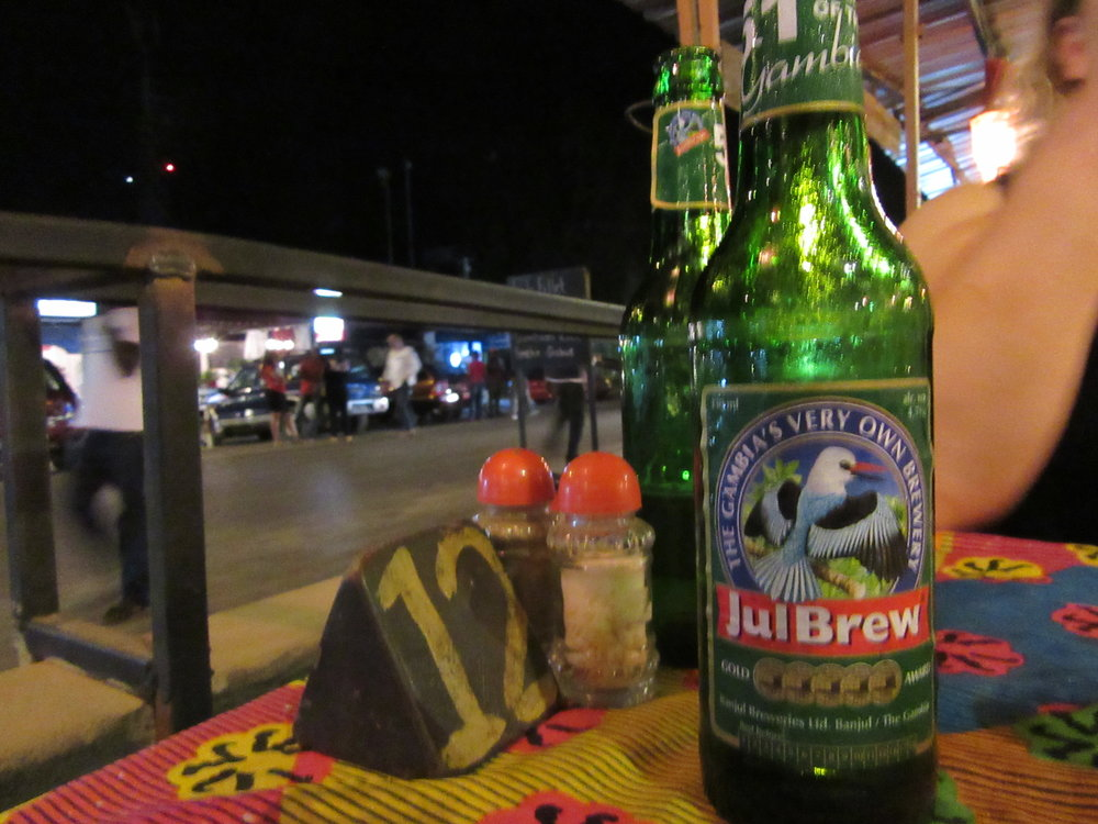 Julbrew was cheap and tasty. A beer that The Gambia can be proud of.