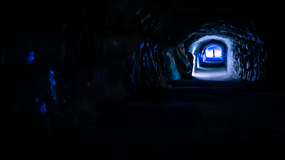 The inside of Langjӧkull glacier looks like something out of a movie. Image credit:    Giuseppe Milo   /   Flickr