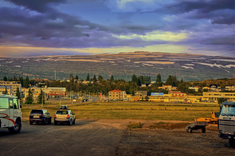 Egilsstaðir is East Icelands biggest town, but only has 2,306 inhabitants. Image credit: mariejirousek/Flickr