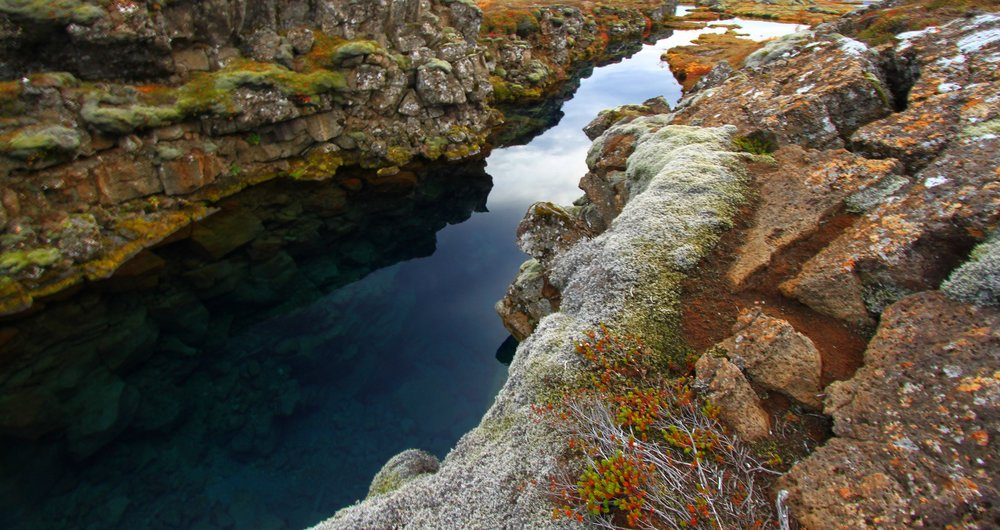 Silfra is home to the world's clearest water. Image credit:    Sigurdur Bjarnason   /   Flickr