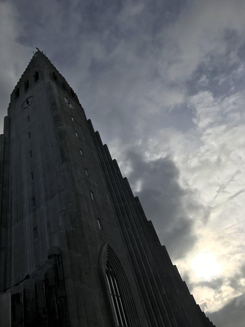 Hallgrímskirkja is one of Iceland's most famous buildings.