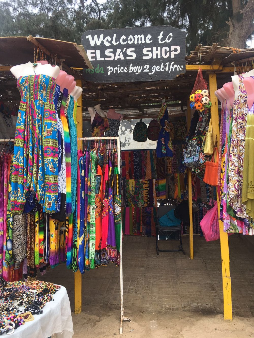 "Some market stalls in The Gambia even offer ""Asda price."""