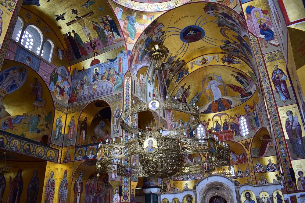 Cathedral-Resurrection-Christ-Podgorica-Decoration