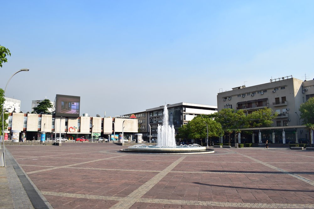 Independence-Square-Podgorica-Montenegro