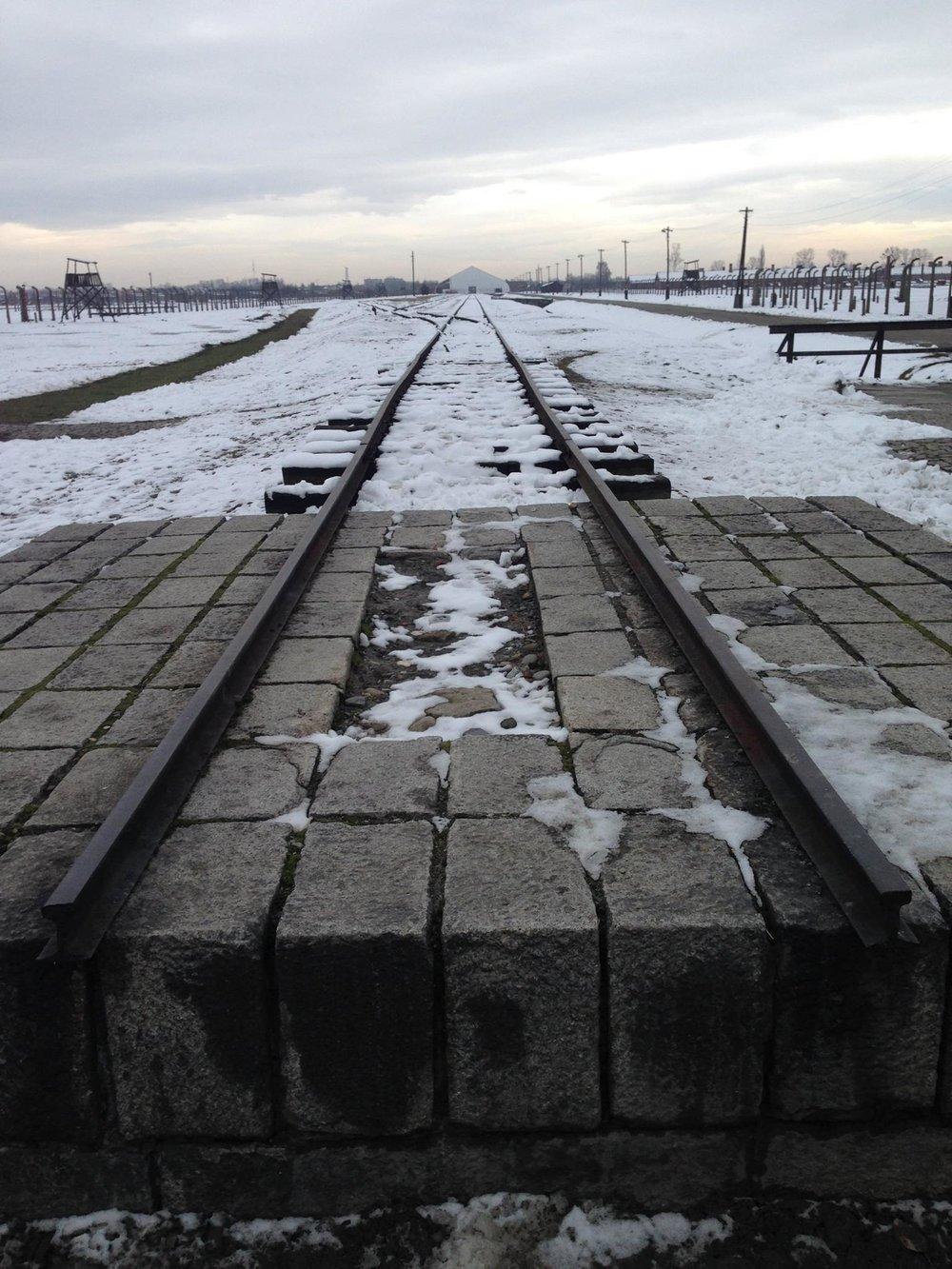 Auschwitz-Poland-Railway-Train-Line