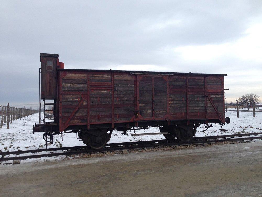 Train-Carriage-Cart-Auschwitz-Poland