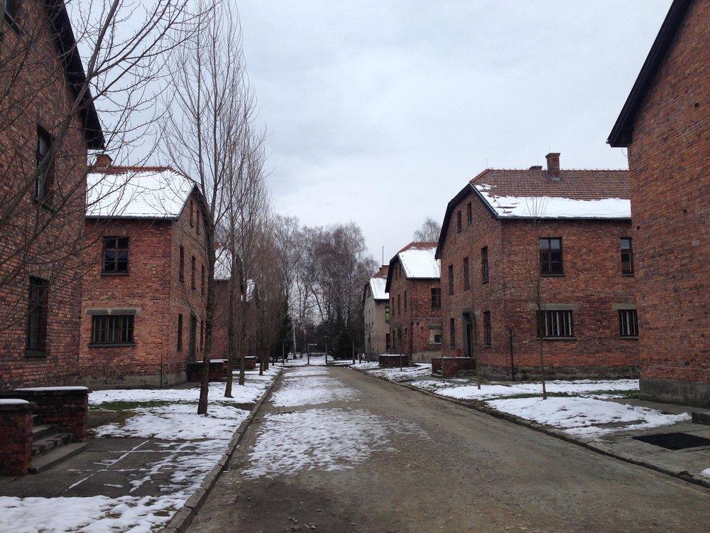 Auschwitz-Concentration-Camp-Barracks-Poland