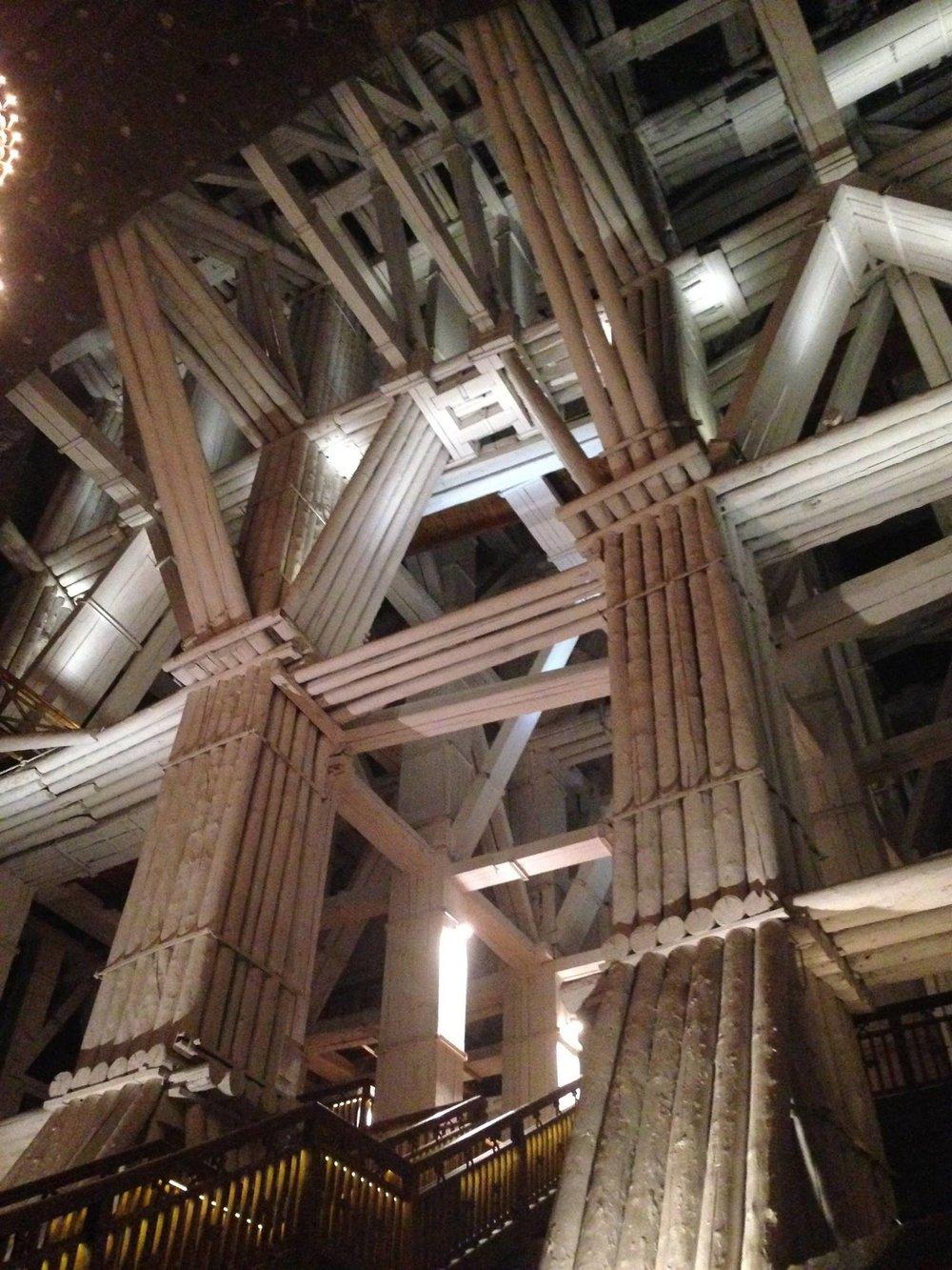 Wieliczka-Salt-Mine-Structure
