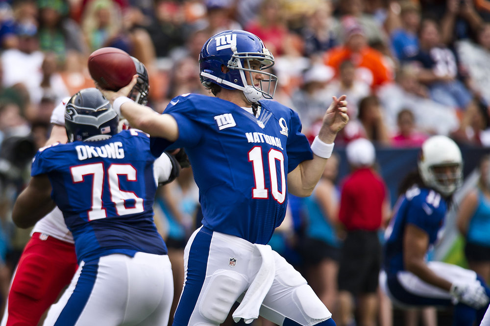Eli Manning's New York Giants have tasted victory twice in recent Super Bowls, defeating the New England Patriots on both occasions.
