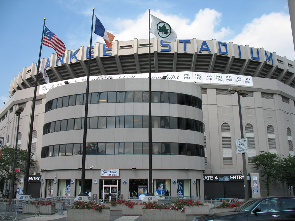 The original Yankee Stadium post-renovation in 2006. Image credit:  Kjetil Ree / Creative Commons