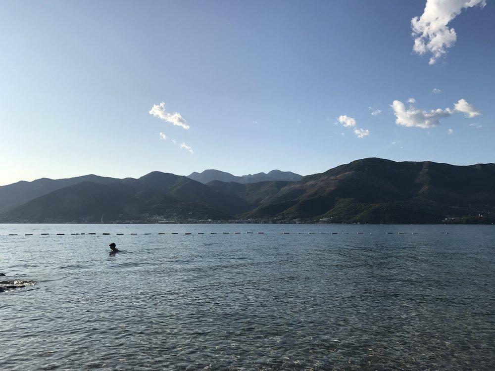 The beautiful Bay of Kotor.