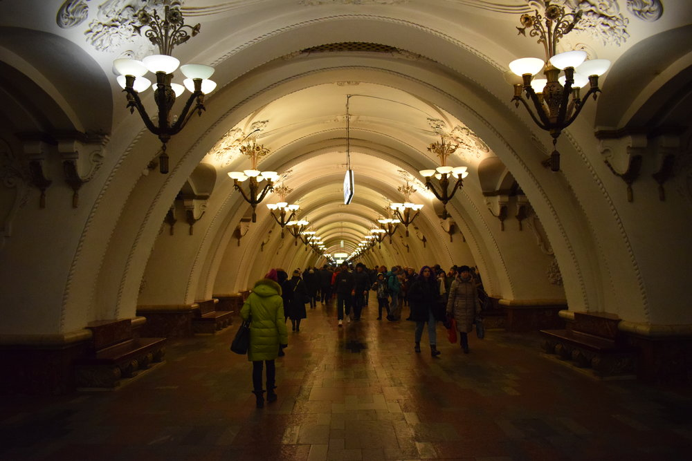 Moscow-Metro-Station-Ornate