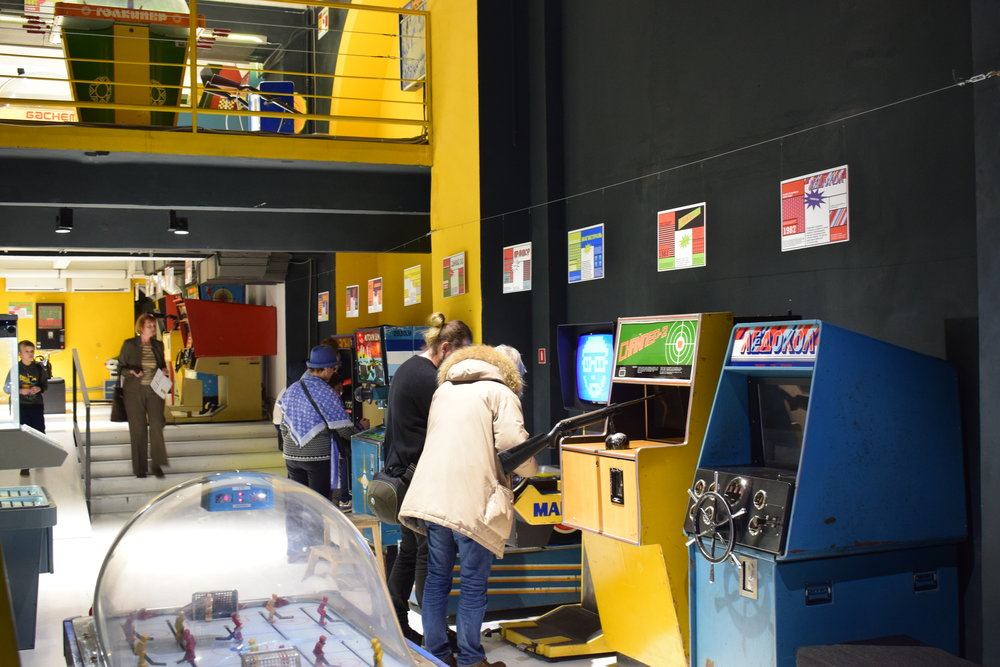 The Museum of Soviet Arcade Machines - a great experience to have in Moscow.
