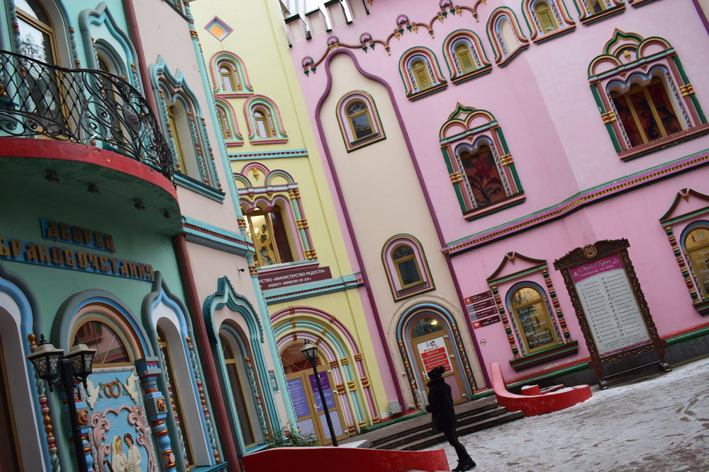 The weird and wonderful world of the Izmailovo Kremlin in Moscow.