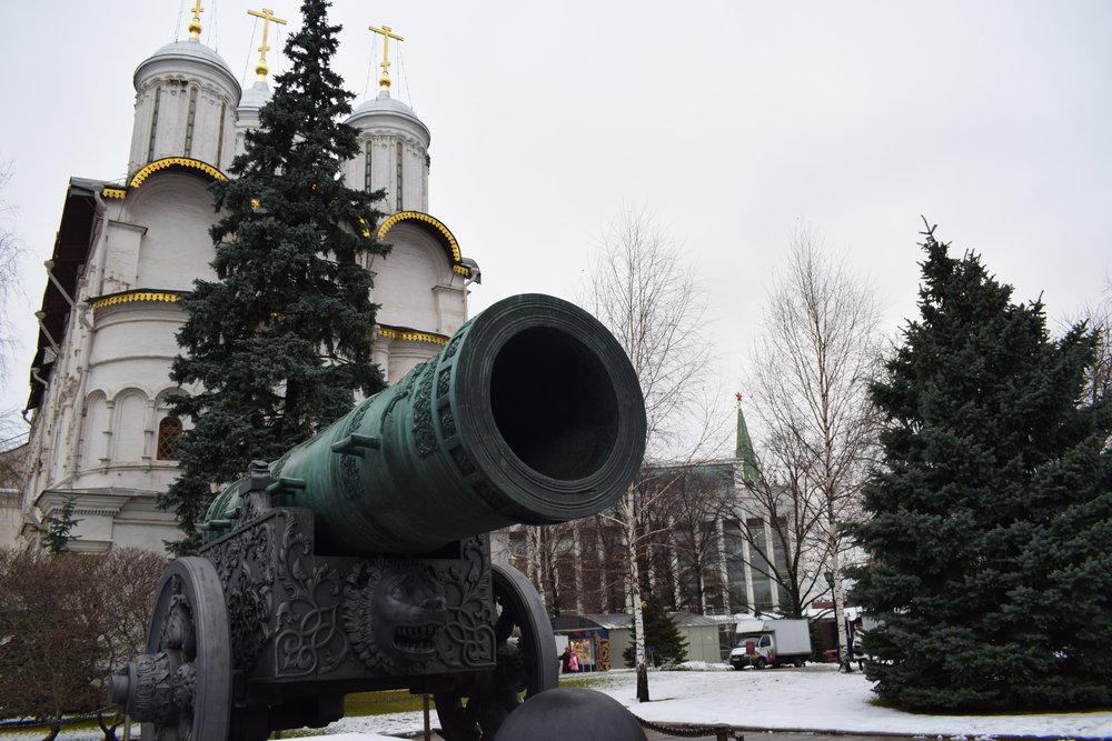 Kremlin-Cannon-Moscow