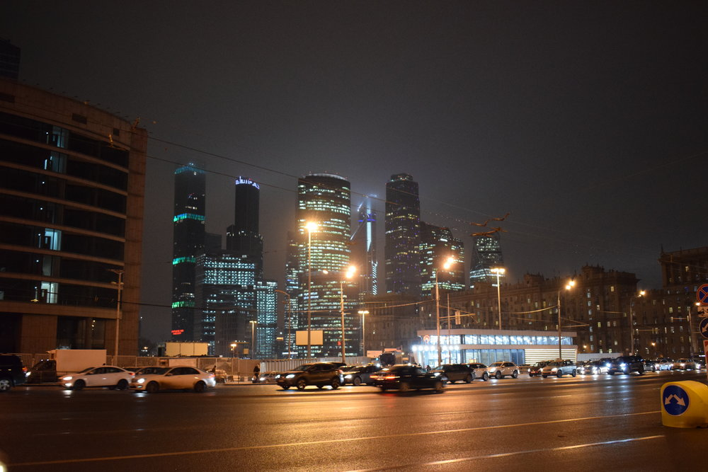 Moscow-Skyscrapers-Night