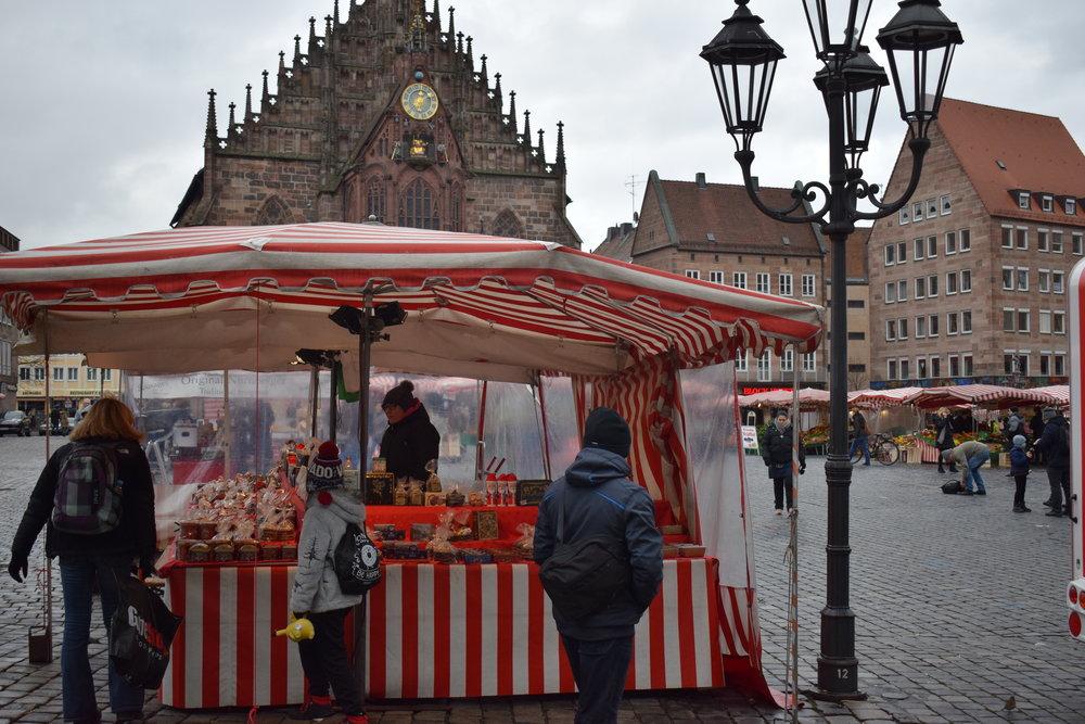 Hauptmarkt-Nuremberg-Germany