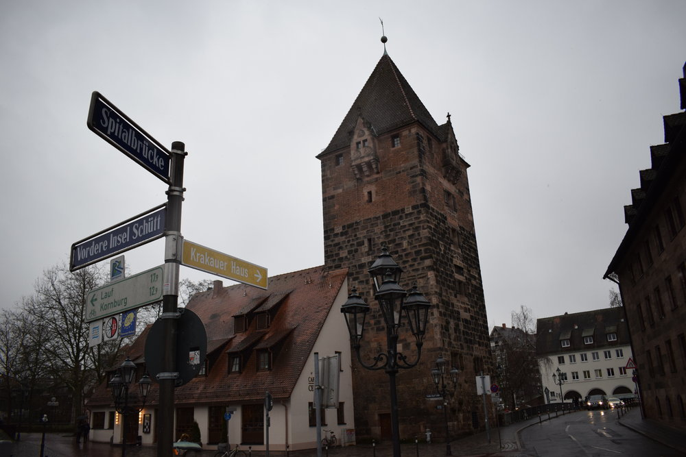 Signpost-Nuremberg-Germany