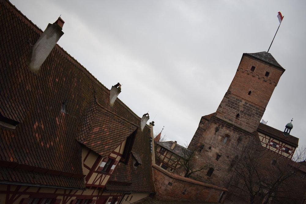 Nuremberg-Castle-Roof