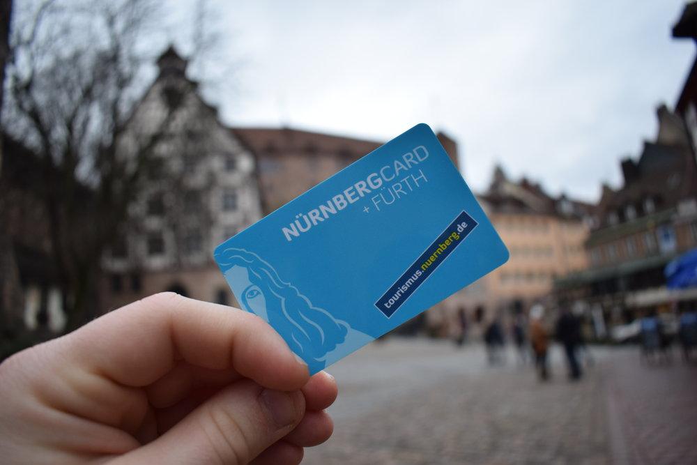 Nurnberg-Card-Old-Town