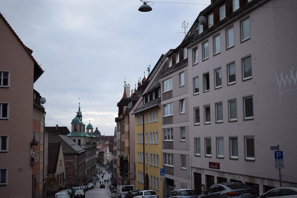 Nuremberg-Street-Architecture