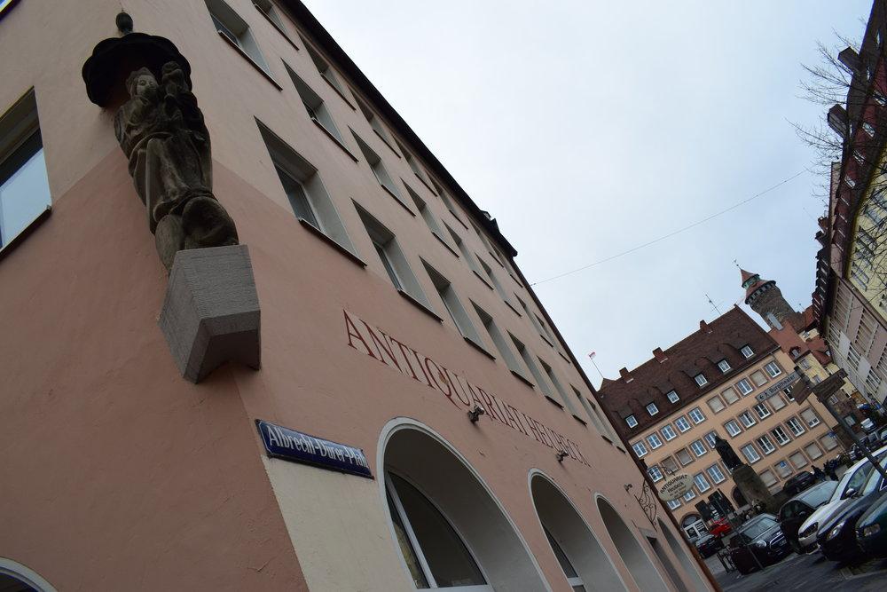 Albrecht-Durer-Street-Nuremberg