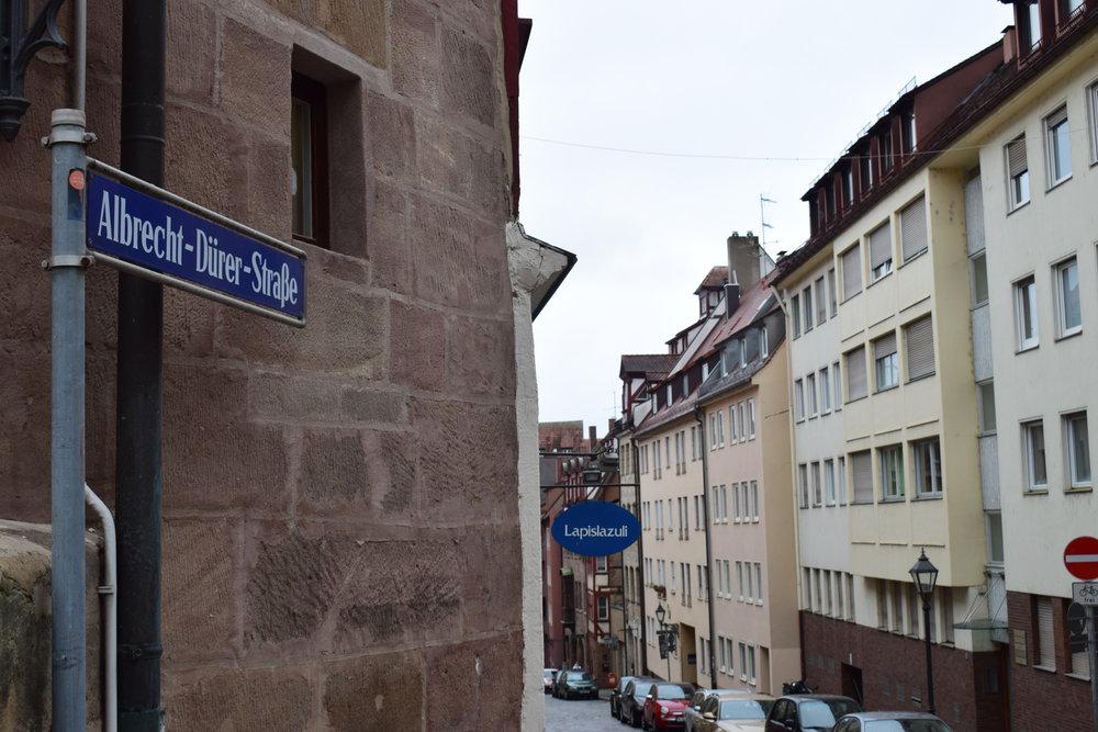 Albrecht-Durer-Strasse-Nuremberg